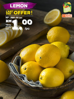 AEON BiG Lemon RM1 Per Piece