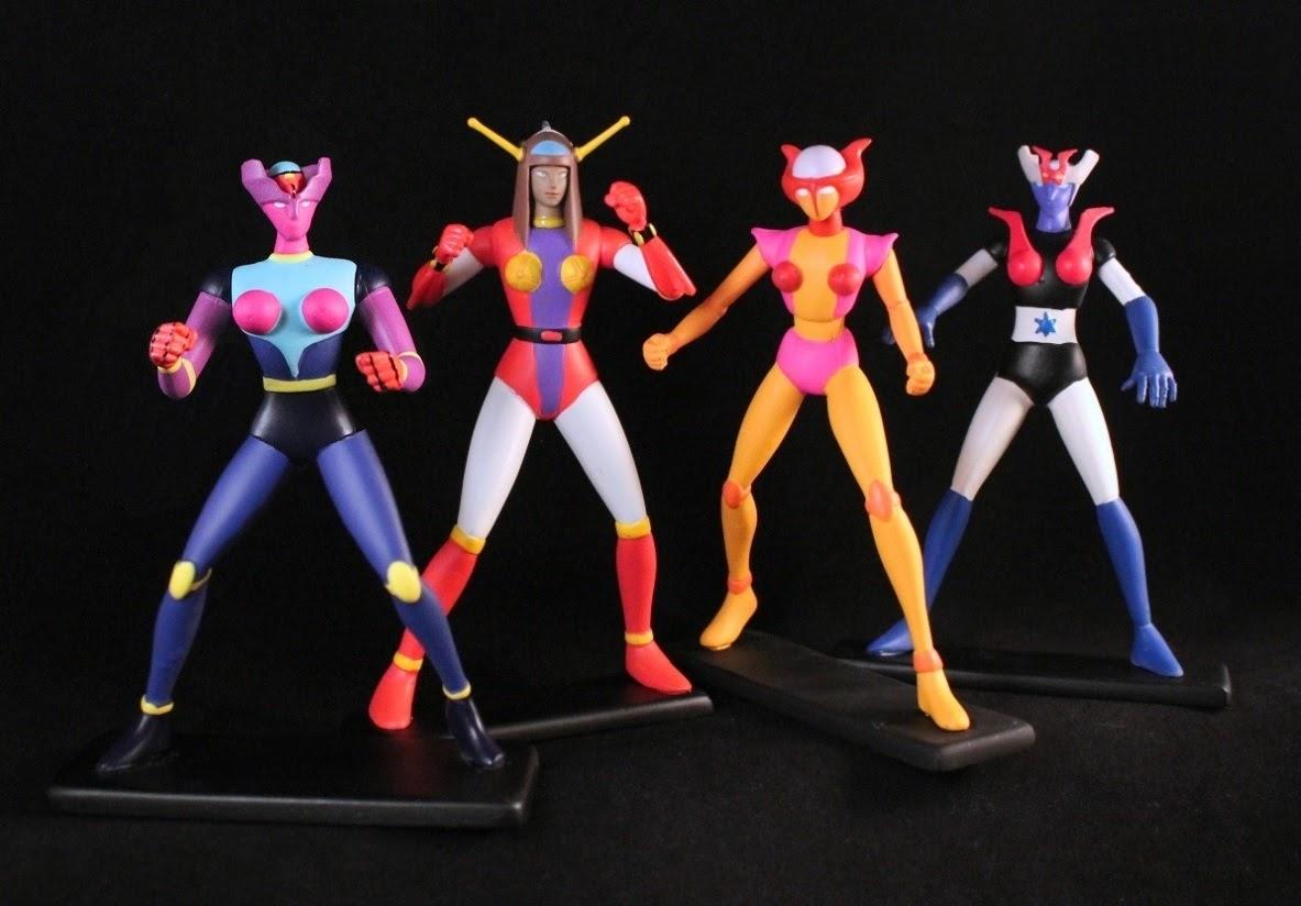 Mazinger Z Full Body Roblox She S Fantastic Centauria Figurines Mazinger Angels