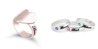 anelli romantici