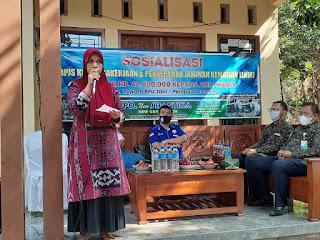Formades Jepara Kerjasama BPJS Ketenagakerjaan Sosialisasi di 2 Desa