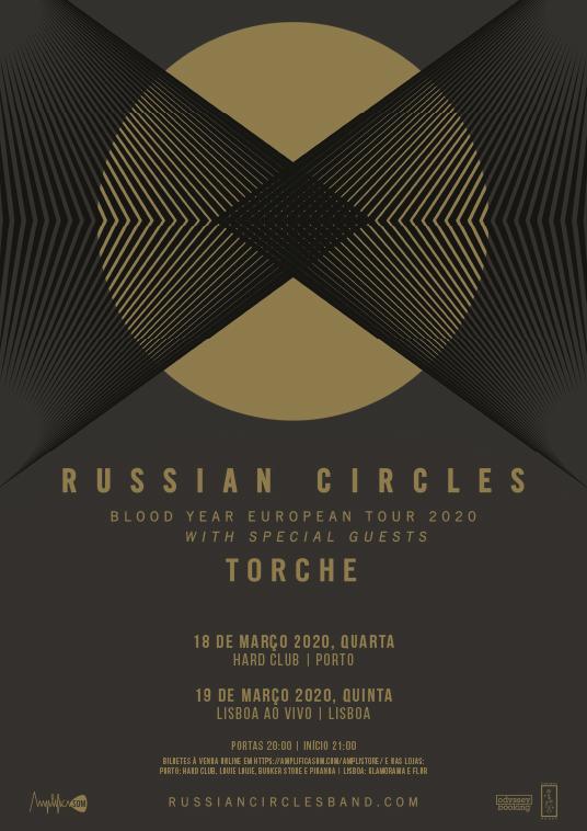 Russian Circles e Torche em Portugal no próximo ano