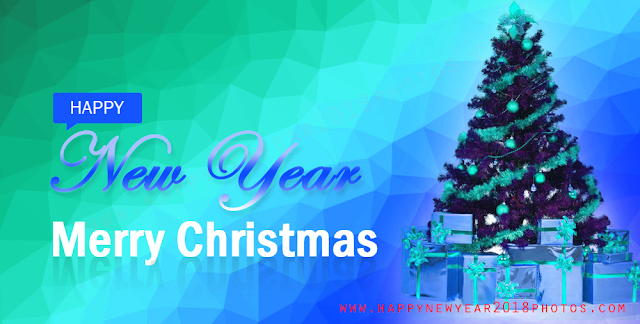 new year and merry christmas