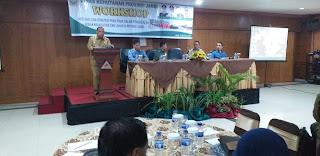 Asisten I Bidang Pemerintahan Dan Pembangunan Secara Resmi Membuka Workshop Refleksi Dan Strategi Para Pihak Dalam Pengendalian Kebakaran Hutan Dan Lahan Di Provinsi Jambi.