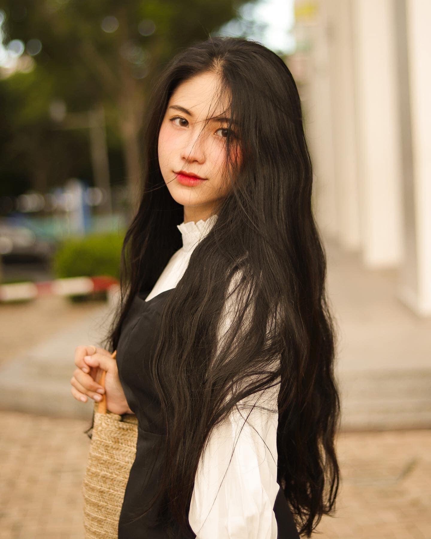 Hot girl Nguyễn Thị Kim Anh xinh xắn và cực dễ thương - 5