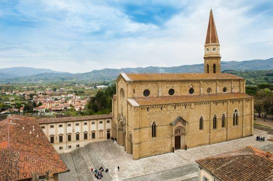 Dove dormire ad Arezzo spendendo dai 30 ai 60 euro a notte.