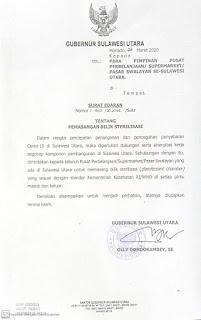 Gubernur Keluarkan Surat Edaran Kepada Pemimpin Pusat Perbelanjaan Untuk Memasang Bilik Sterilisasi