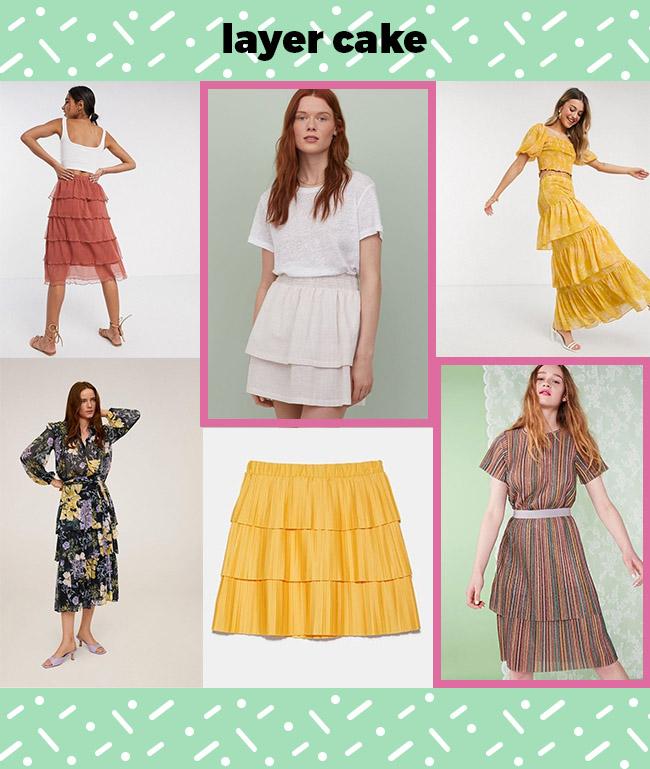 10 design hack ideas for the Dominique skirt