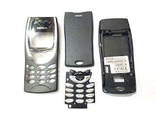 Casing Hape Nokia 8210 Jadul Fullset Keypad Tulang
