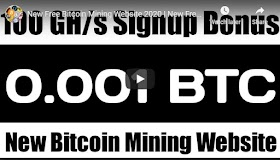 New Free Bitcoin Mining Website 2020 | New Free Btc Cloud Mining Website | Earn Btc Daily