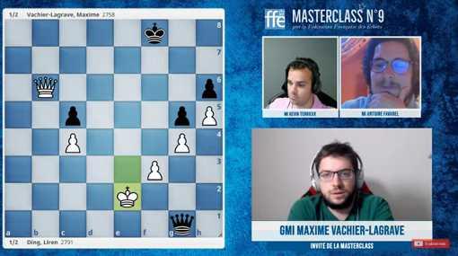 Masterclass d'échecs consacrée à Maxime Vachier-Lagrave