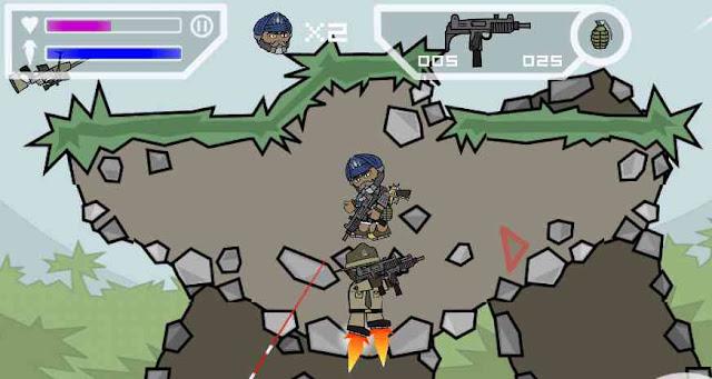 تحميل لعبة ميني ميليشيا Mini Militia مهكرة اختراق الجدران اخر اصدار للاندرويد