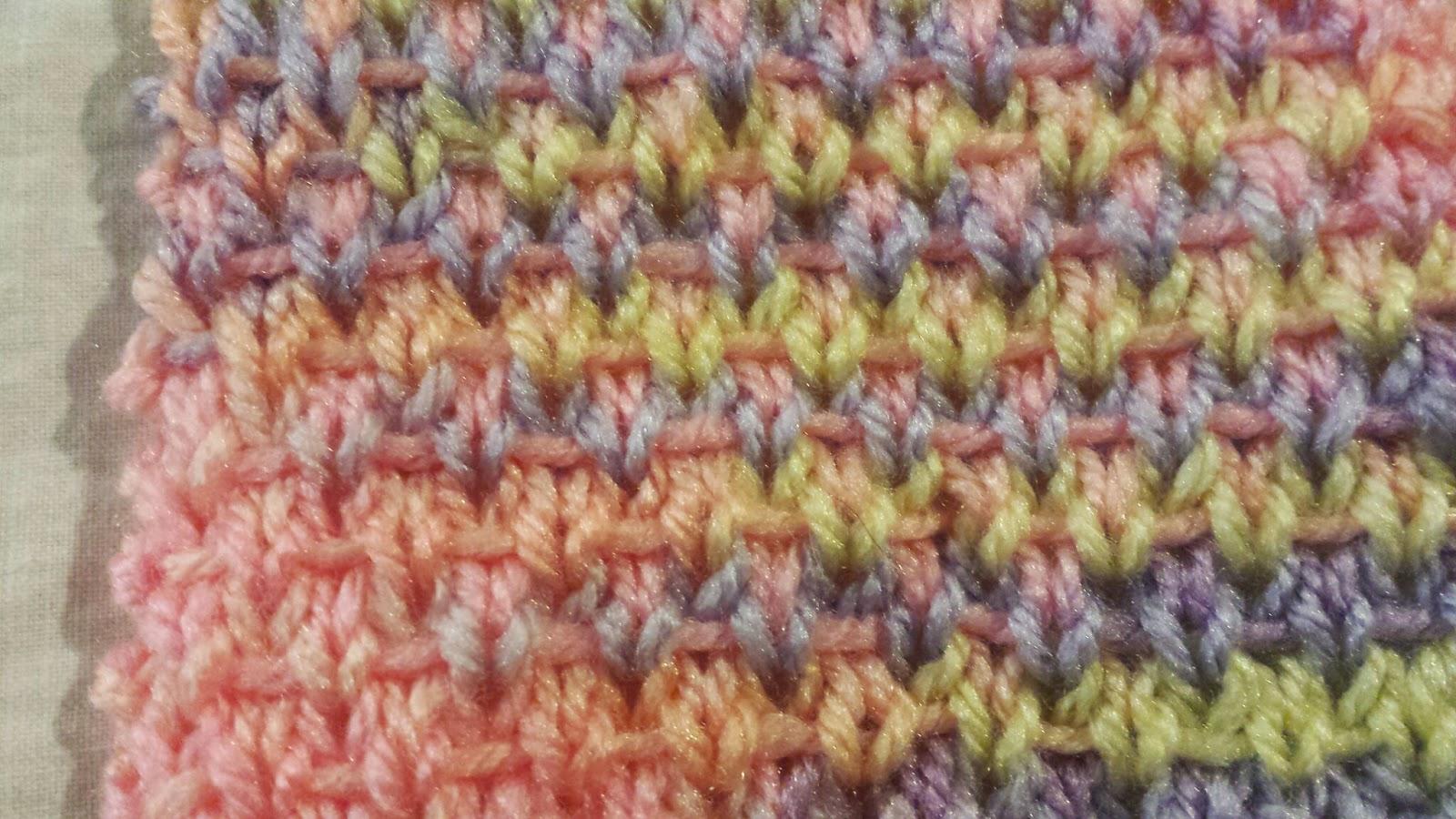 My Patchwork Quilt: TWEED STITCH - A KNIT PATTERN