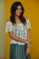 Eesha in a cute deep neck top and Skirt at at Big FM 106.JPG