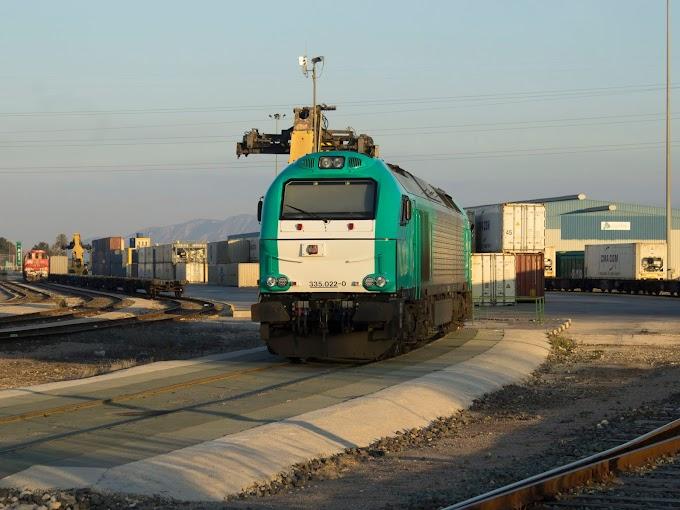 Transfesa inicia un nuevo tráfico desde Valencia y Murcia a Gran Bretaña