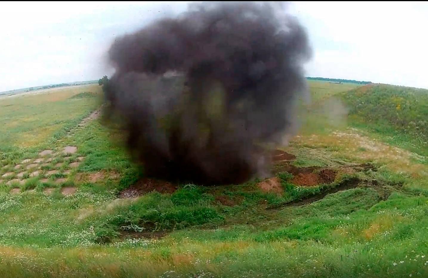 ДАХК «Артем» випробував нові 155-мм артснаряди на підрив
