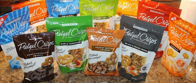 snack factory pretzel crisps dark chocolate 22 oz