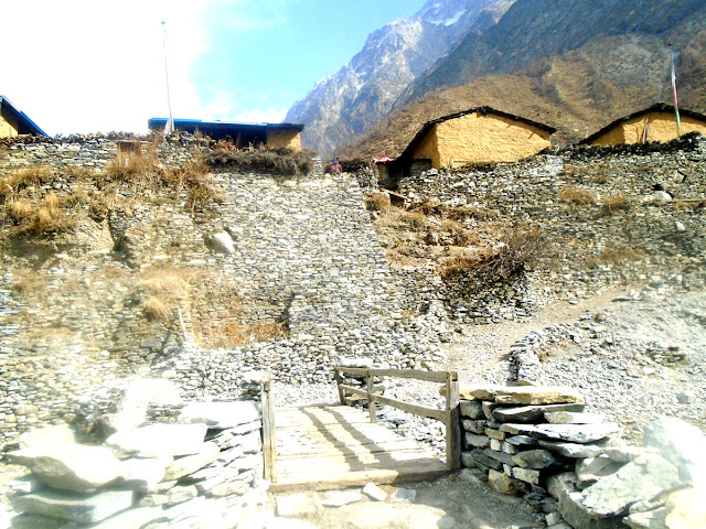 Manaslu Local village
