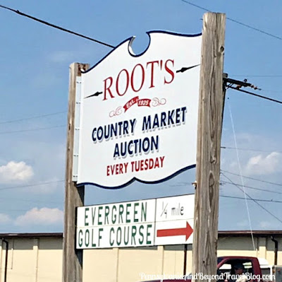Root's Country Market and Auction in Maheim Pennsylvania