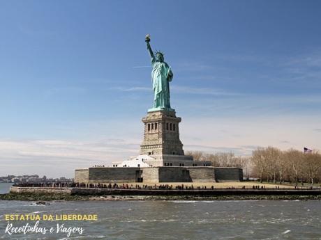 Estatua da Liberdade em Nova York