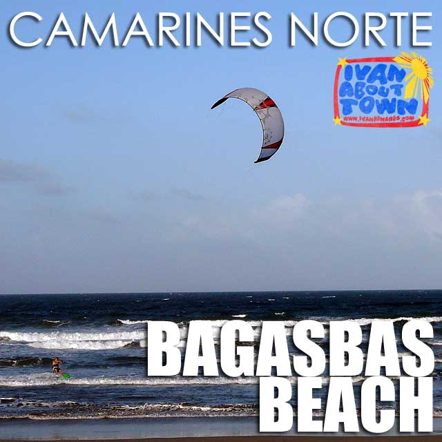Camarines Norte: Surfing & kitesurfing at Bagasbas Beach