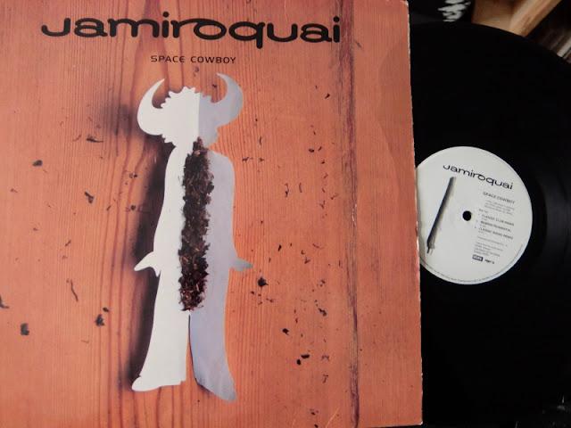 Space Cowboy / Jamiroquai のレコードです。