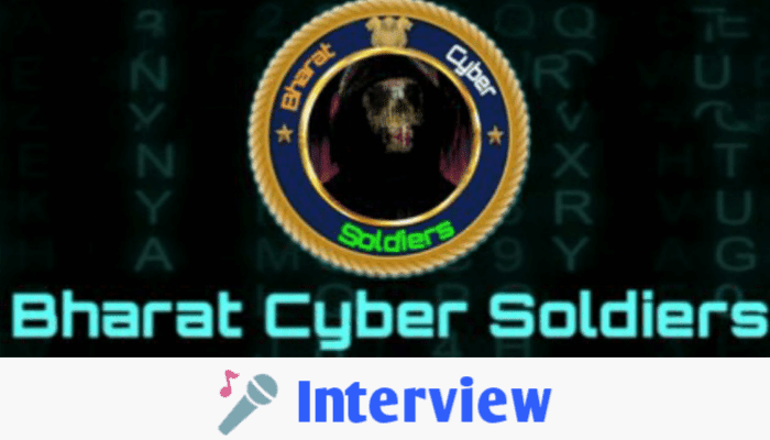 Interview with Bharat Cyber Soldiers