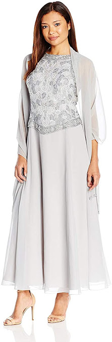 Cheap Silver Mother of The Groom Dresses