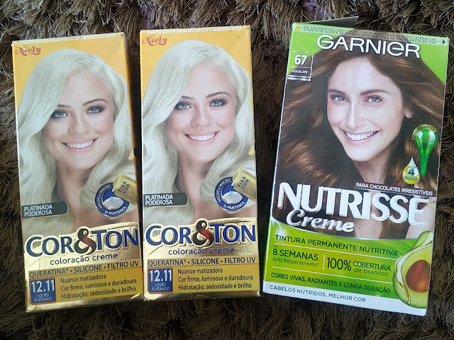 12.11 Cor&Ton + 6.7 Garnier Nutrisse