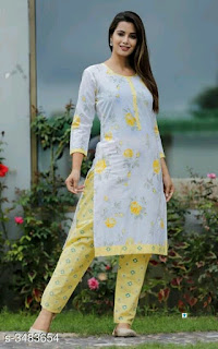 Tanya Fabulous Cotton Women's Kurta Sets