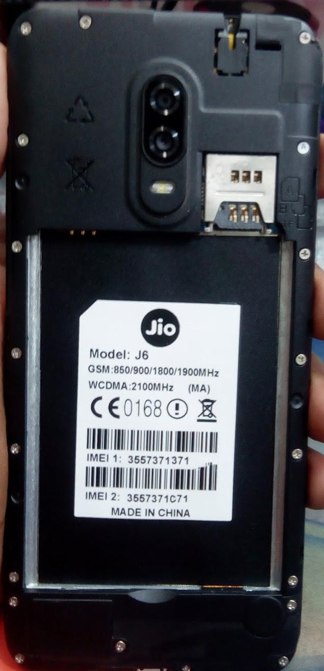 JIO J6 FLASH FILE (MA) FIRMWARE STOCK ROM