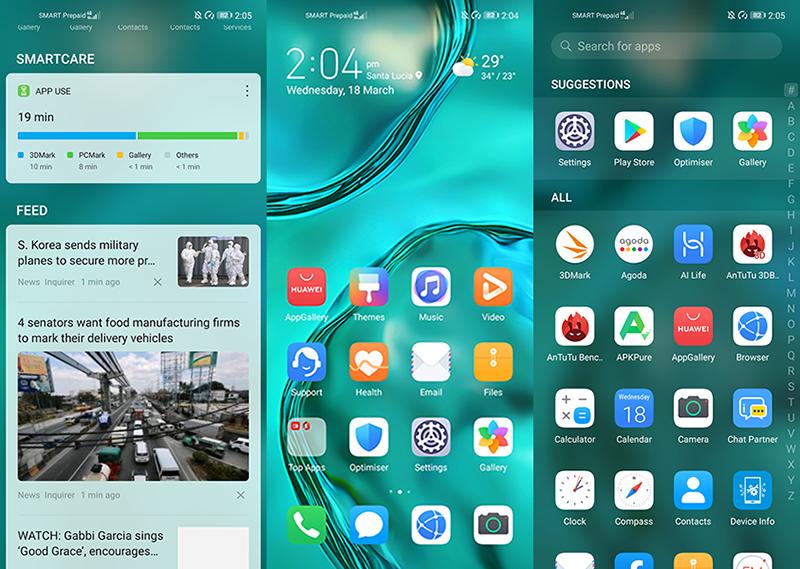 EMUI 10 based on Android 10