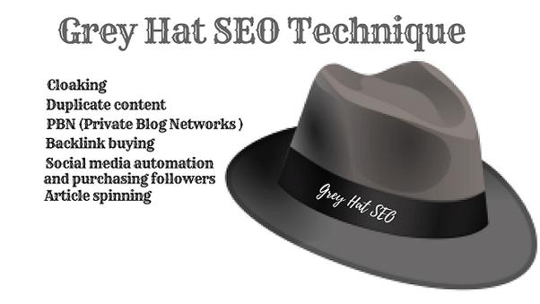 Gray Hat SEO Techniques
