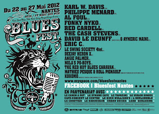 Blues Fest Nantes, Rezé Saint Marc sur mer blues - rock avec Red Cardell, The Cash Stevens ...