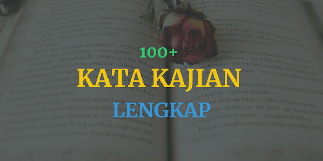 100 contoh kata kajian