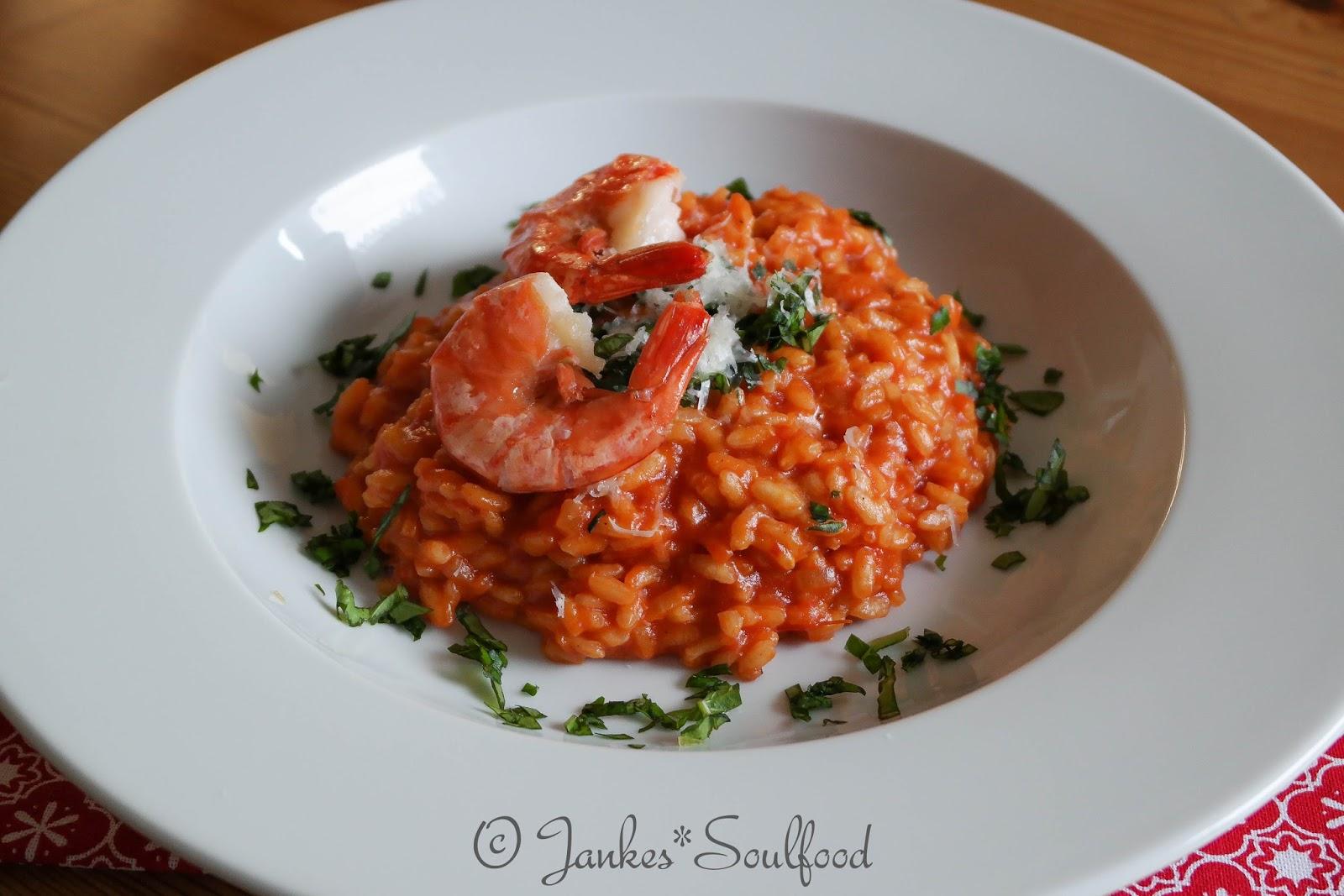 Tomatenreis mit Garnelen von Jankes Soulfood