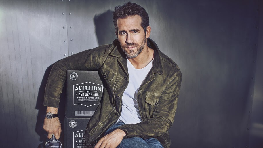 Ryan Reynolds, Aviation Gin, 4K, #4.902