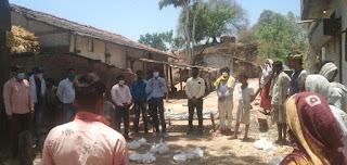 आकास एवं अजाक्स संगठन ने ग्रामीण क्षेत्रों में असहाय एवं गरीबों की मदत के लिए बढ़ाये हाथ