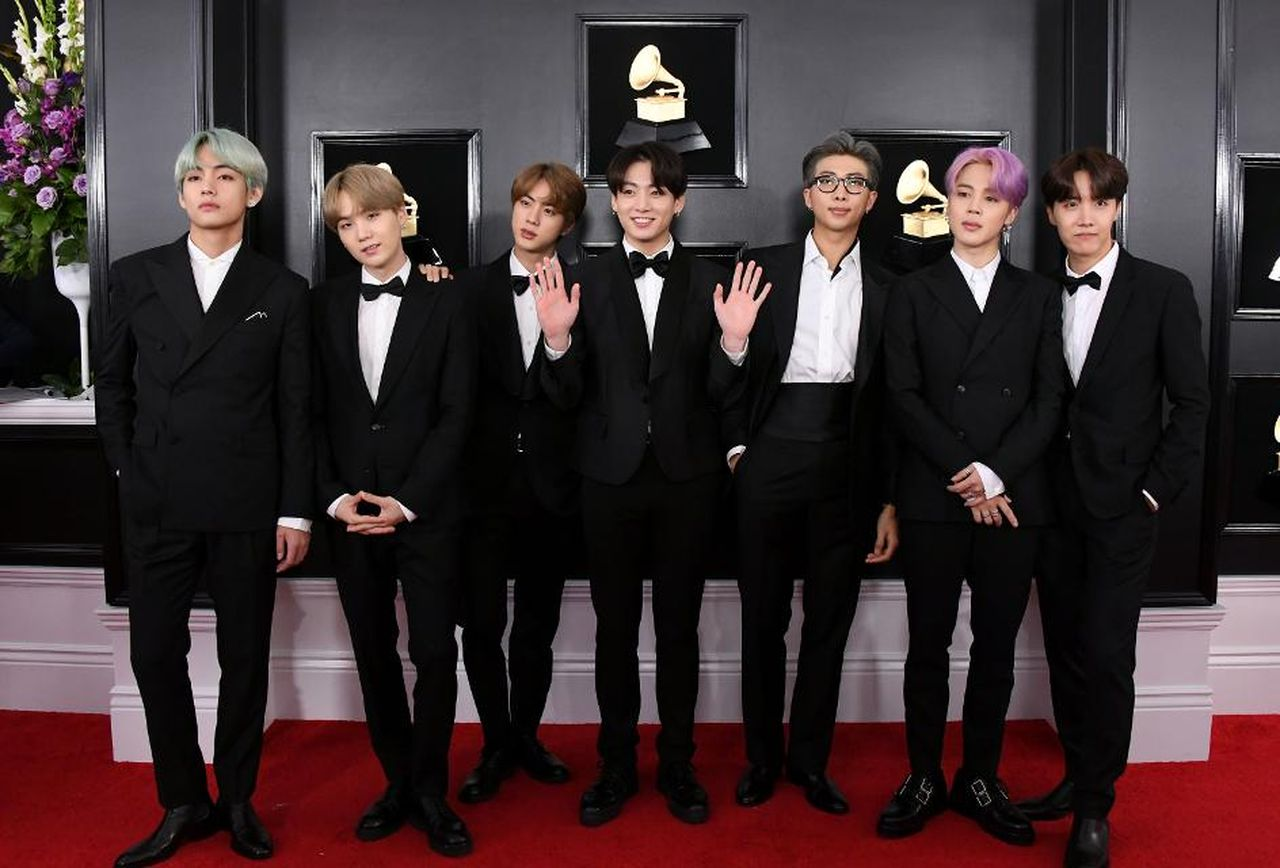 BTS Member Costumes Will Be Displayed at the Grammy Museum