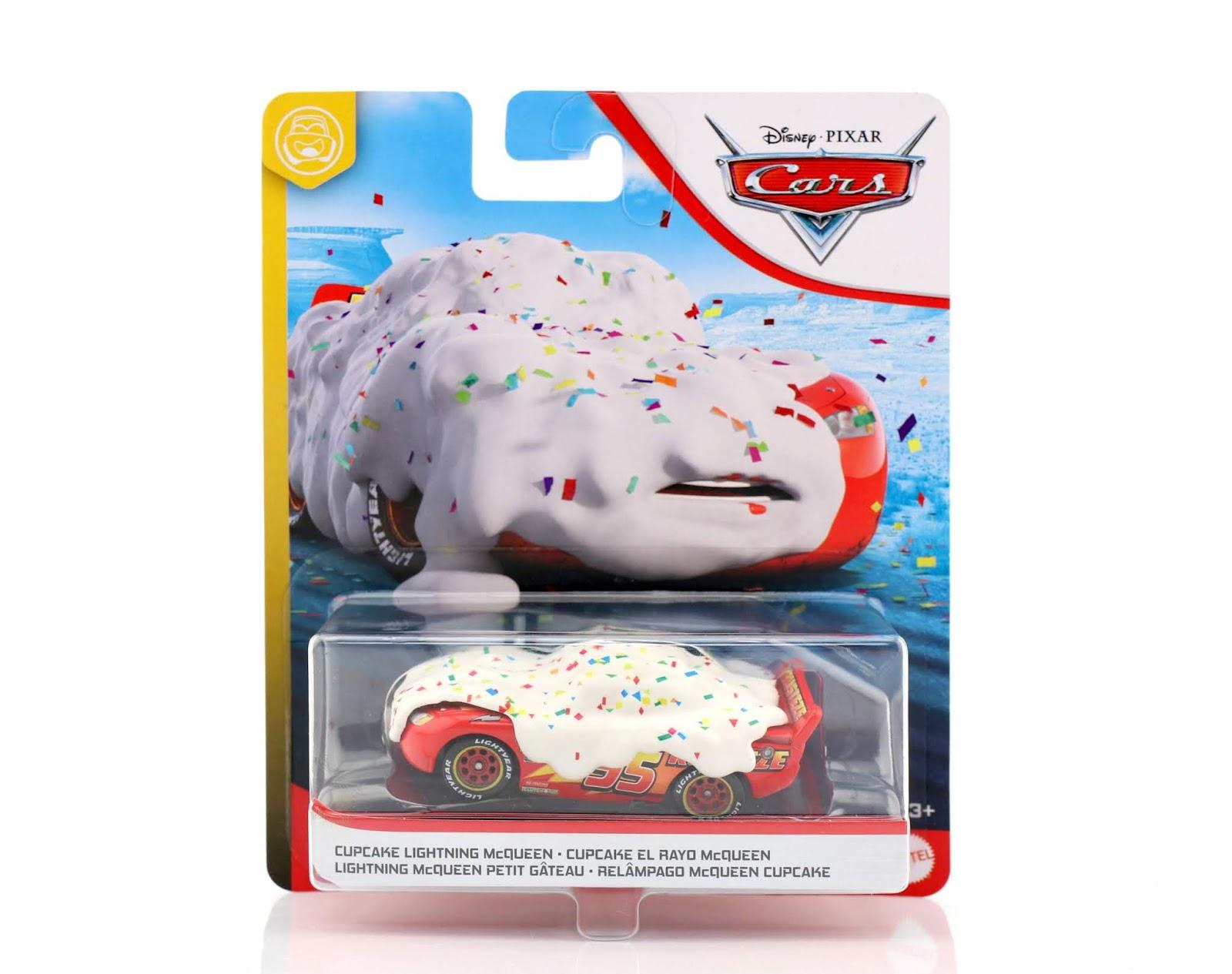 cars 3 cupcake lightning mcqueen