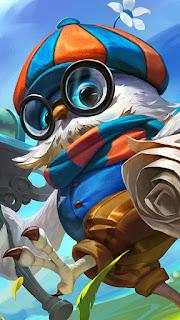 Diggie Pigeoneer Heroes Support of Skins V2