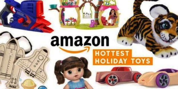 Attention Early Birds - Amazon Has Released Its Top Holiday Toys List