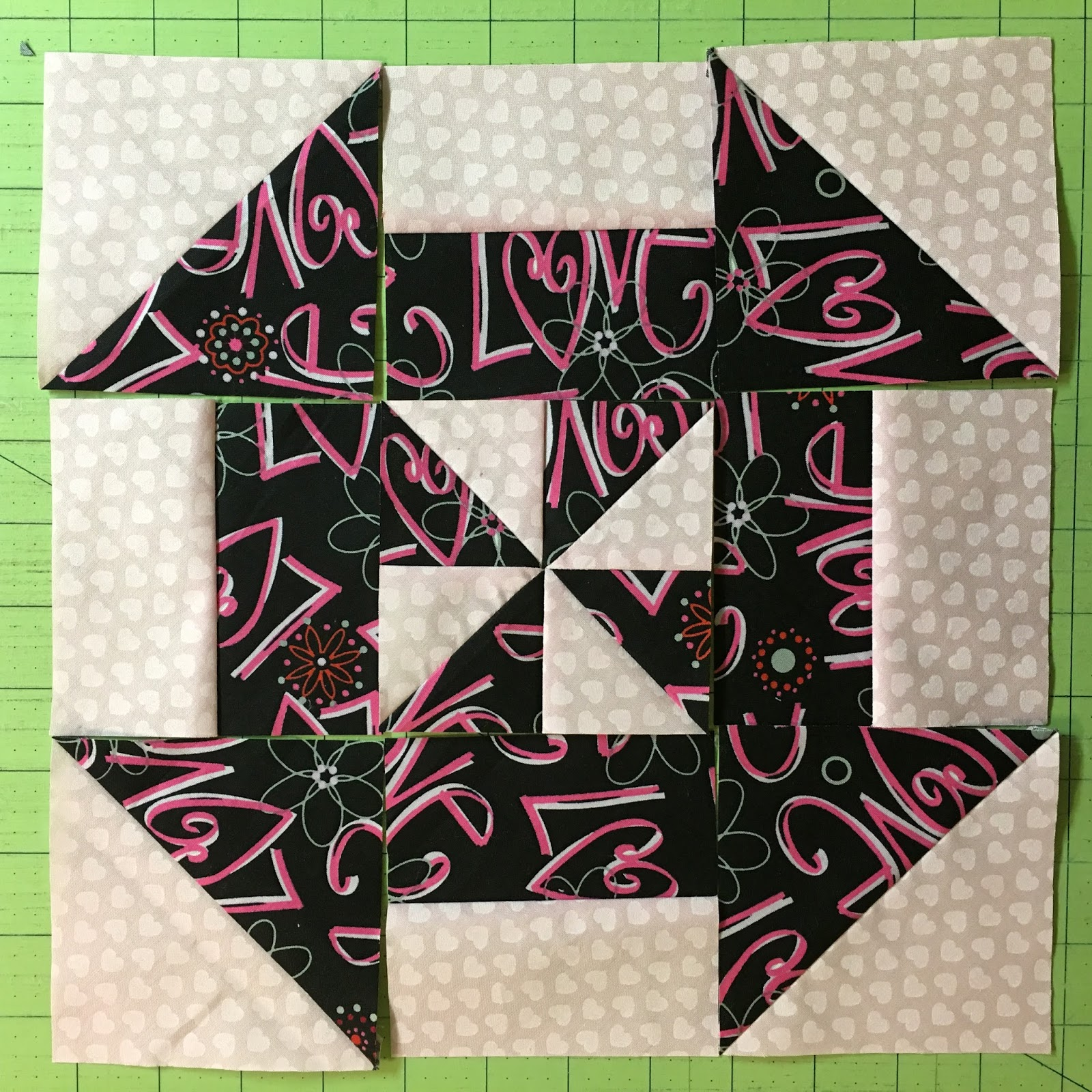 Tips tricks and tuts tuesday disappearing pinwheel the there is also a tutorial on this one from missouri star quilt company baditri Images