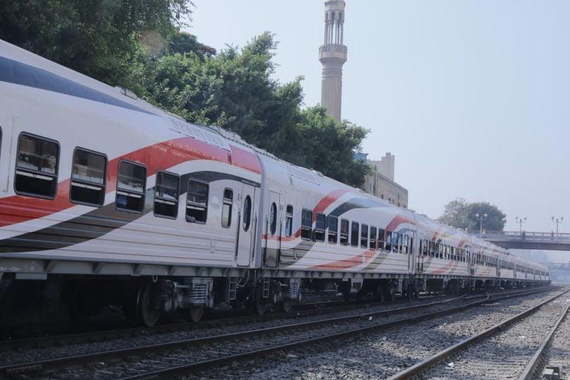 """""""السكة الحديد تعلن موقف التهديات والتأخيرات المتوقعة اليوم الاحد"""""""