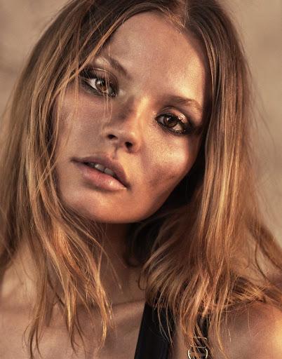 Hot model Magdalena Frackowiak zoo magazine topless photoshoot