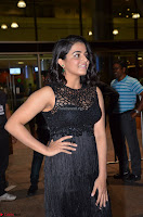 Wamiqa Gabbi in a sleeveless Black Designer Transparent Gown at 64th Jio Filmfare Awards South ~  Exclusive 048.JPG