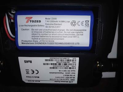 Spectranet Battery