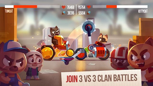 CATS Crash Arena Turbo Stars MOD APK (Unlimited Money)