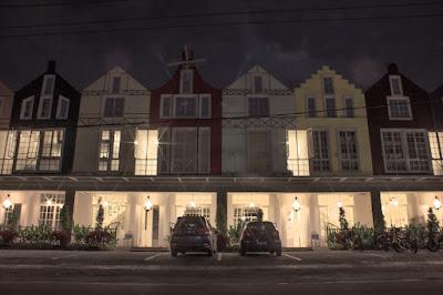 Villa Victoria Boutique tampak pada bagian depan dengan gaya kolonial