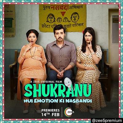 Divyendu Sharma Zee5 web series Shukranu