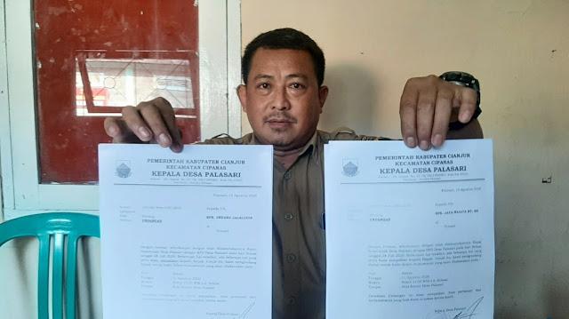 Kasus PTSL Bermasalah di Palasari, Kades Minta  Dana Warga Segera Dikembalikan